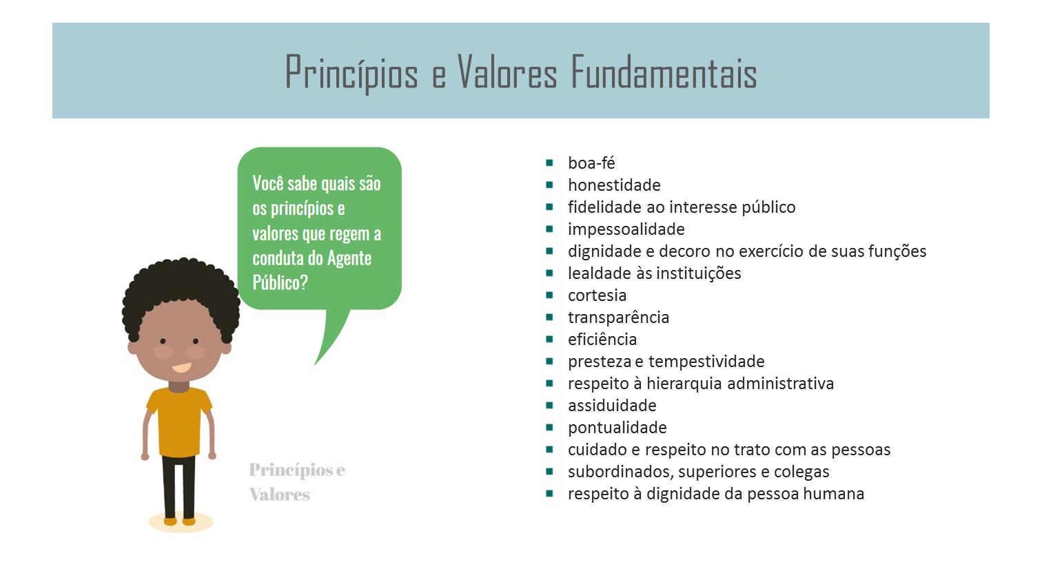 Princípios e Valores Fundamentais